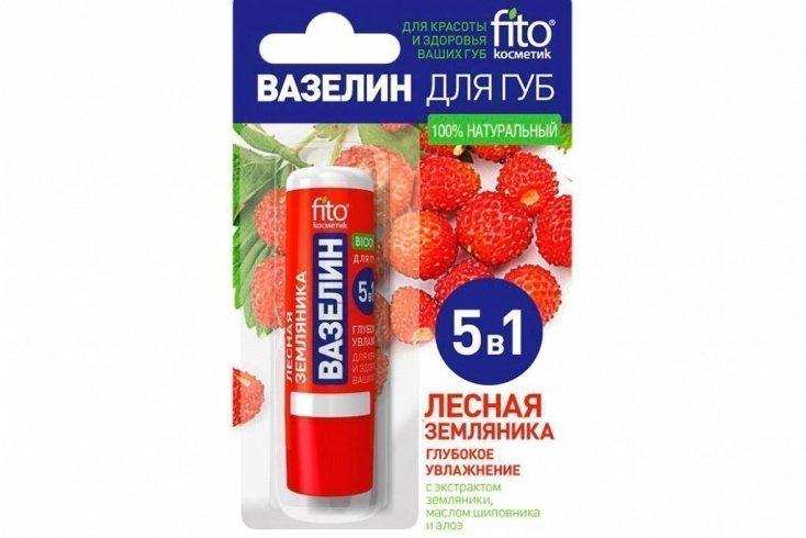 Вазелин для губ, «Фитокосметик», стик 4,5 г Источник: akva.ru
