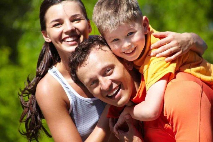 Отношения родителей в семье