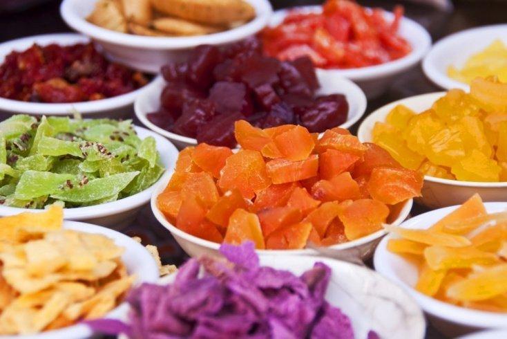 Десерт для детей из овощей и фруктов