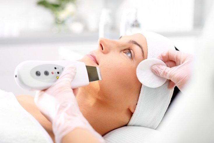 Салонные процедуры для очищения кожи