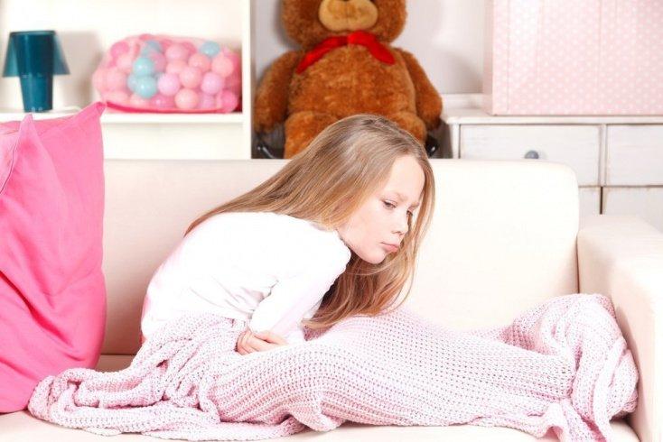 Динамика развития симптомов у детей