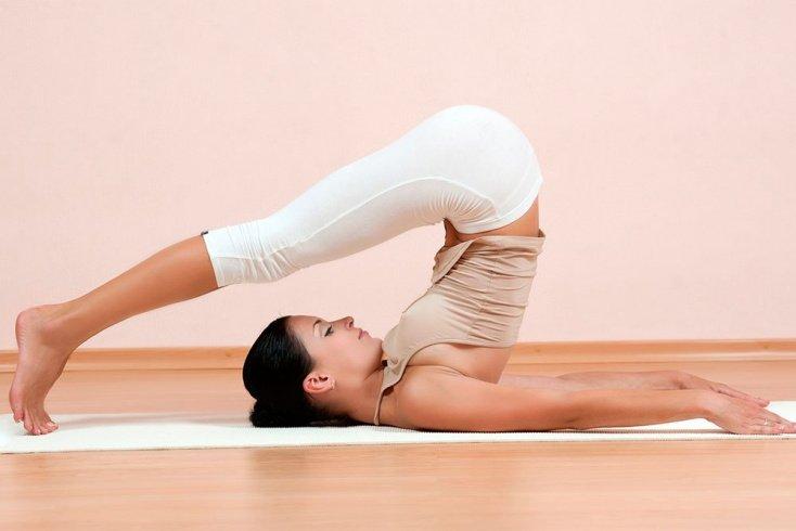 Позы йоги: первые асаны