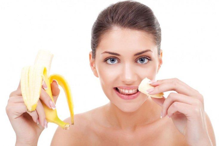 Банановая маска для питания и здоровья кожи