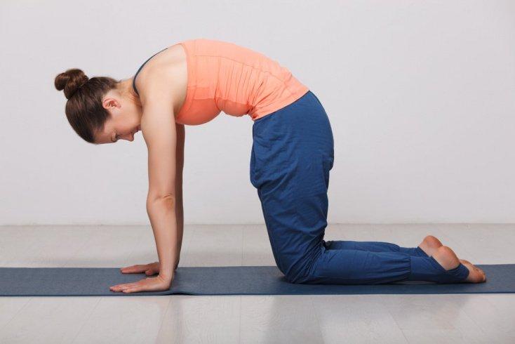 Упражнения при переднезаднем искривлении позвоночника