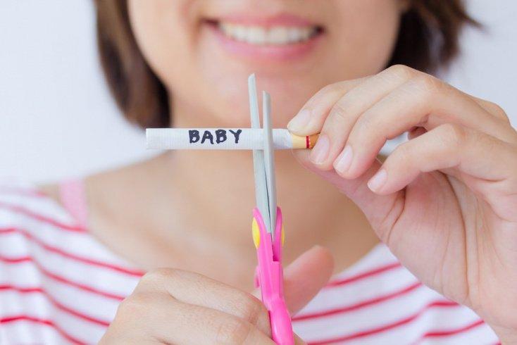 Как правильно бросить курить будущей маме?