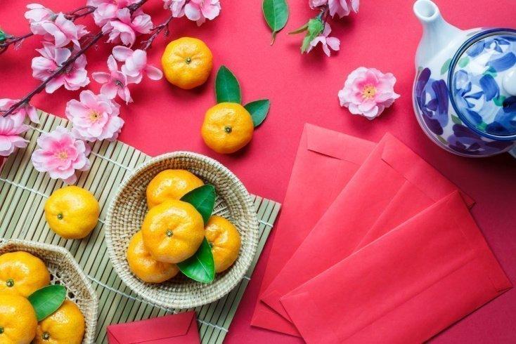 Главный новогодний фрукт в Китае