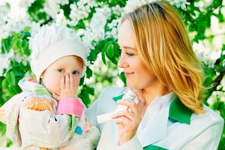 Как защитить малыша от пыльцы растений?