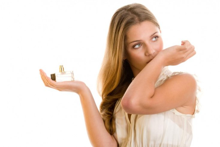 Тип внешности на выбор женского парфюма не влияет