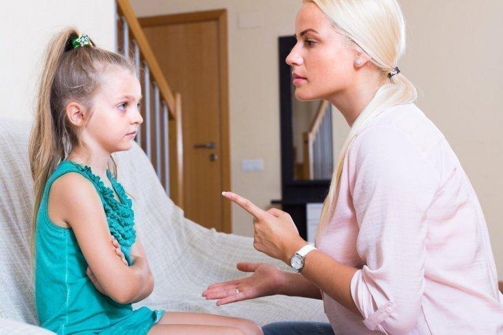 Ругать ребенка за любую мелочь