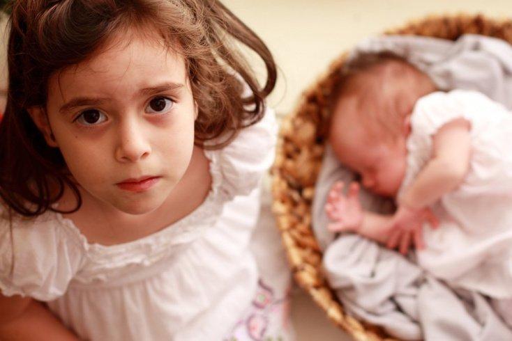 Новые отношения: попросите старшего ребенка быть взрослым