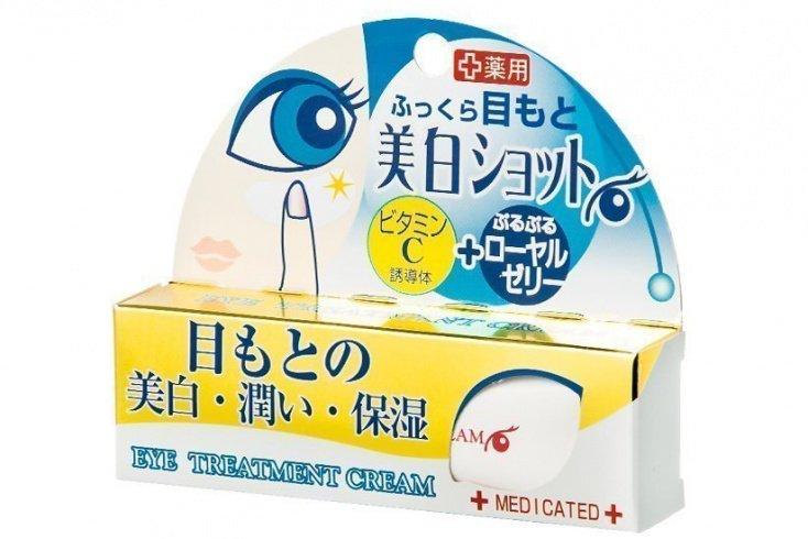 Крем для кожи вокруг глаз против темных кругов, Cosmetex Roland Eye Treatment Cream Источник: showrooms.ru