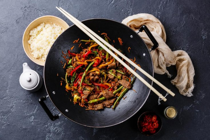Жаркое из овощей с тофу