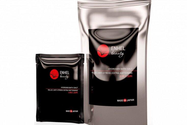 Драгоценная водородная соль для ванн, ENHEL beauty, 3 шт Источник: enhelbeauty.com