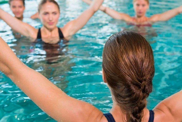 Водные тренировки для похудения