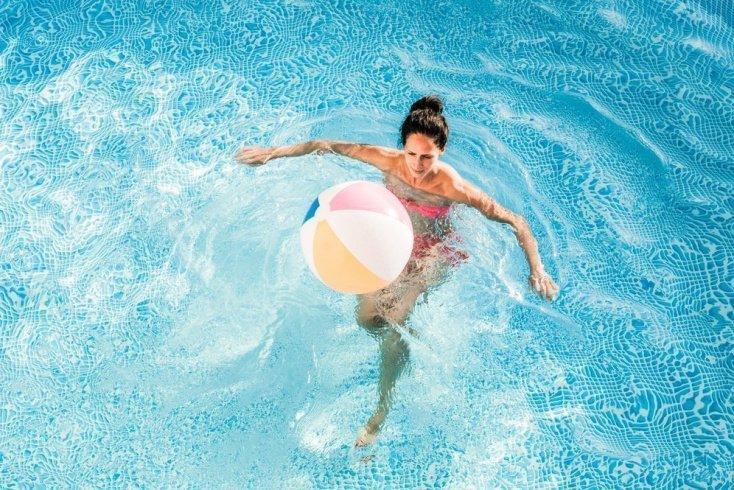 8. Кардионагрузка: фитнес с мячом