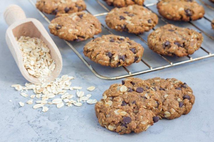 Простой рецепт овсяного печенья с тыквой
