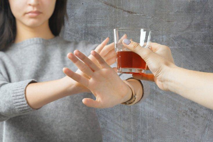 Отказ от алкоголя и кофе
