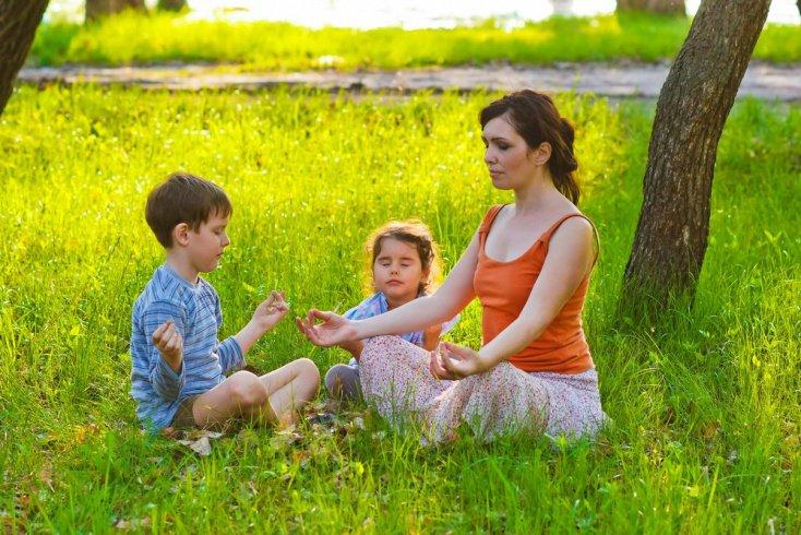 Преимущества медитации для детей