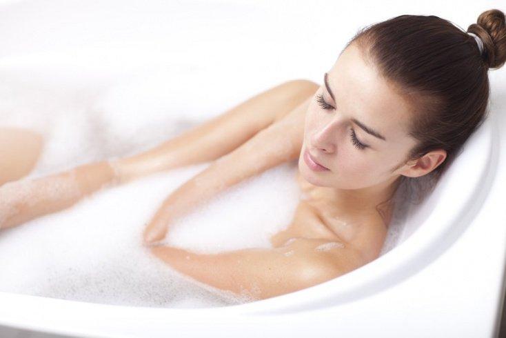 Совет 9: После хорошей тренировки примите горячую ванну