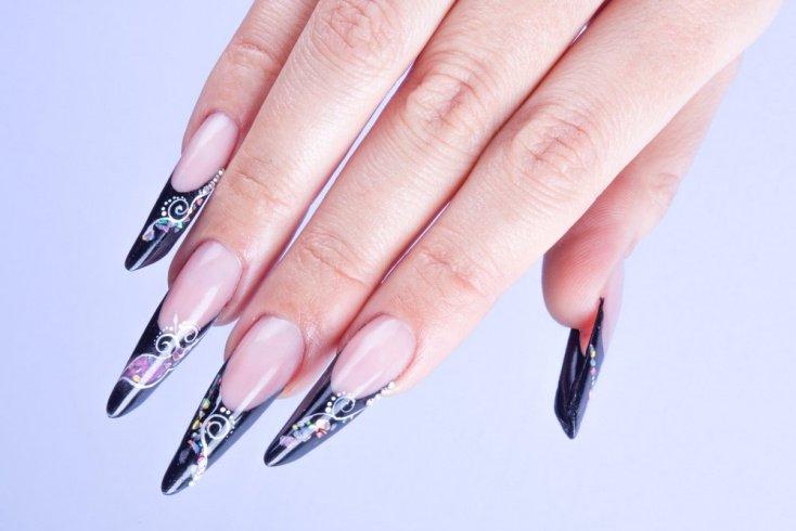 Формы ногтей для «экзотического» маникюра