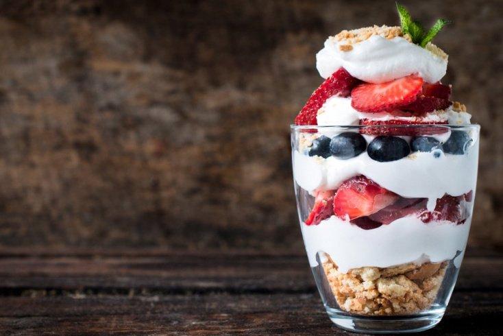 Рецепты летних десертов