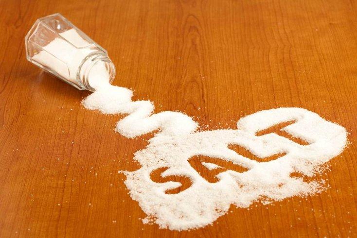 Соль и вода в процессе снижения веса