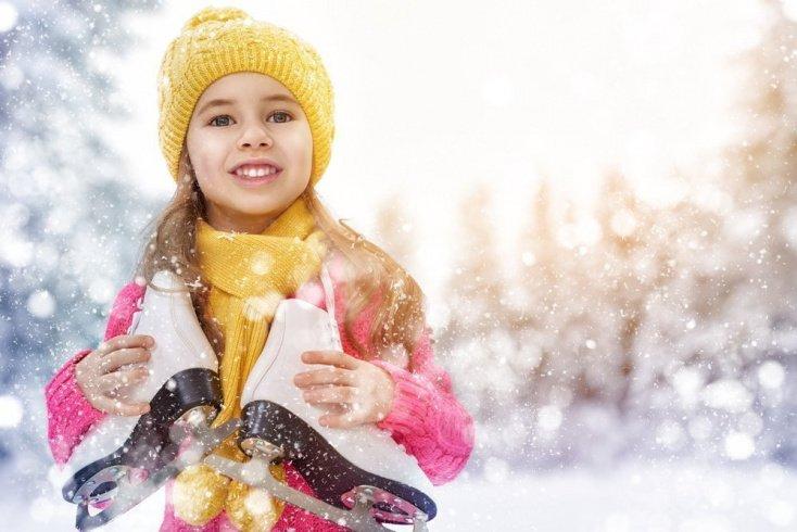 Как одеть ребенка для занятий на льду?