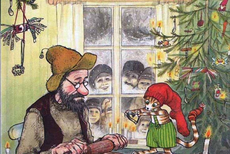 С. Нурдквист, «Рождество в домике Петсона»