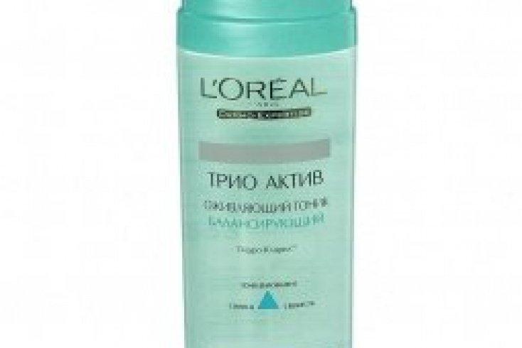 Тоник оживляющий Loreal Dermo-Expertise Трио Актив, 200 мл Источник: cdn2.top-shop.ru