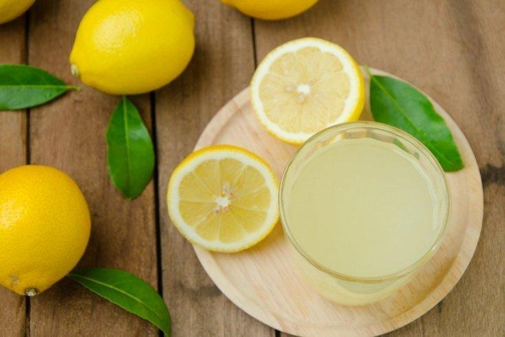 2. Лимонный сок