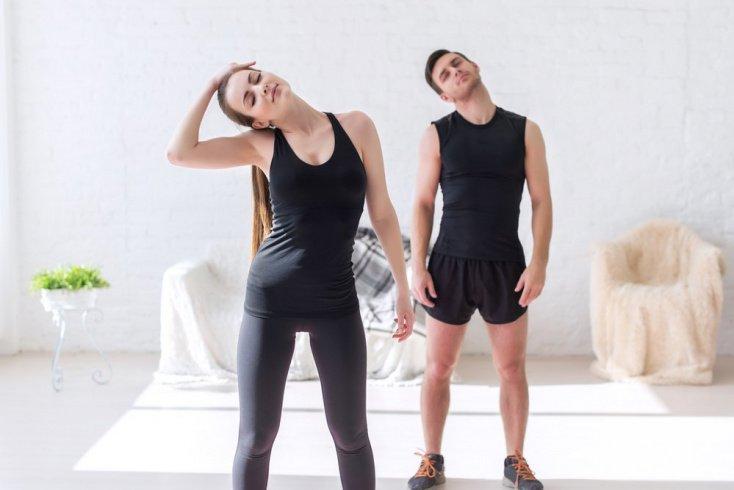 Фитнес-упражнения для разминки