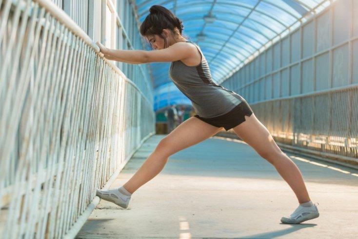 Фитнес для внутренней части бедра: аэробика