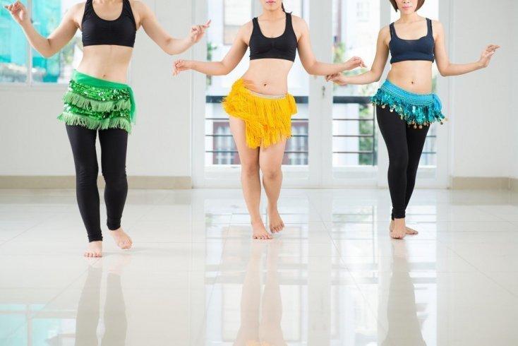 Польза танца живота для тела