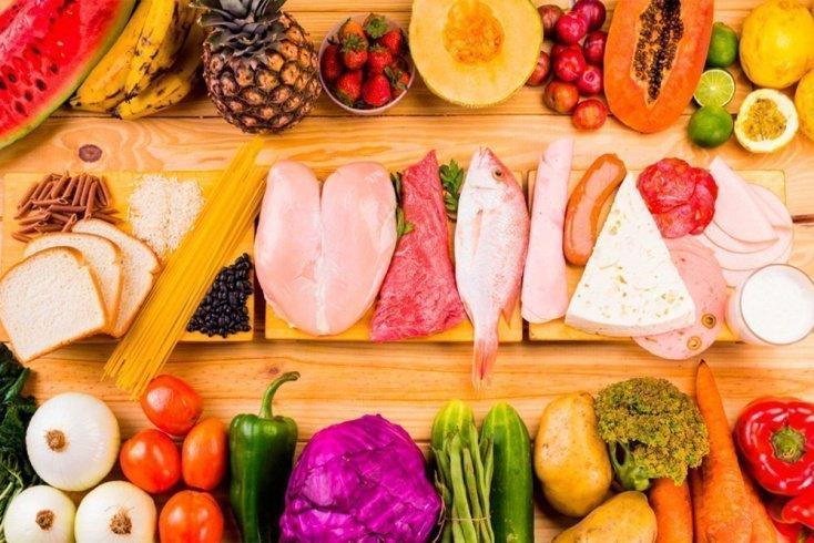 Меню для похудения на каждый день недели: разноцветное питание
