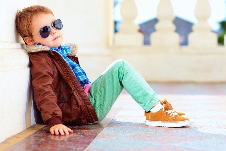 Юный модник или объект обожания родителей?