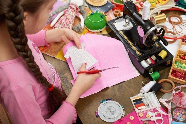 Идея для детского творчества — кукла-оберег
