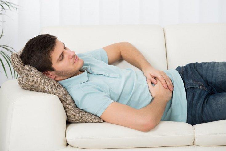 Симптомы: боли в животе, тошнота, похудание