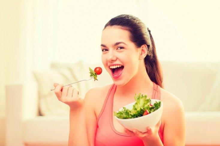 Правильное похудение на зеленом овоще