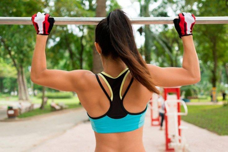 Варианты физической нагрузки в подтягиваниях