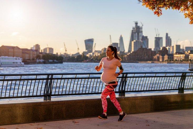 Чем полезен бег при беременности?