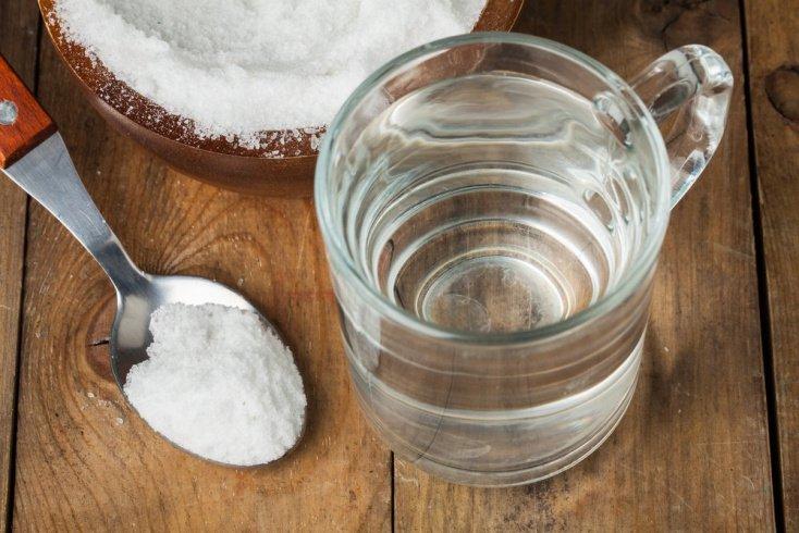 Соленая вода, а не уксус при ОРВИ