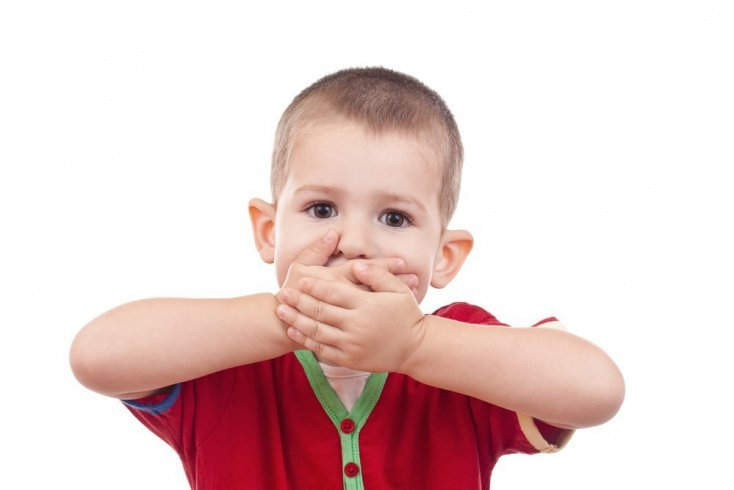 Правильные реакции на выражения малыша
