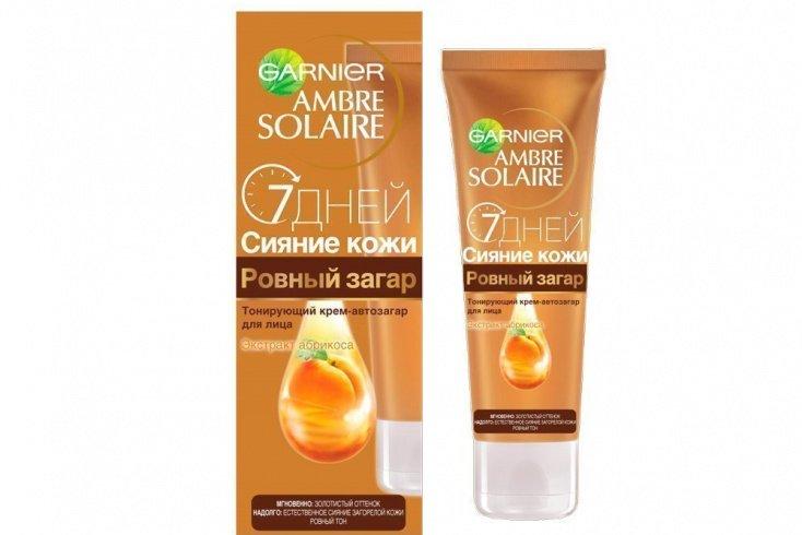 Крем-автозагар 7 дней сияние кожи, Garnier Источник: 76015.selcdn.com