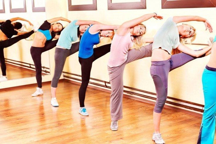 Примеры упражнений из боди-балета