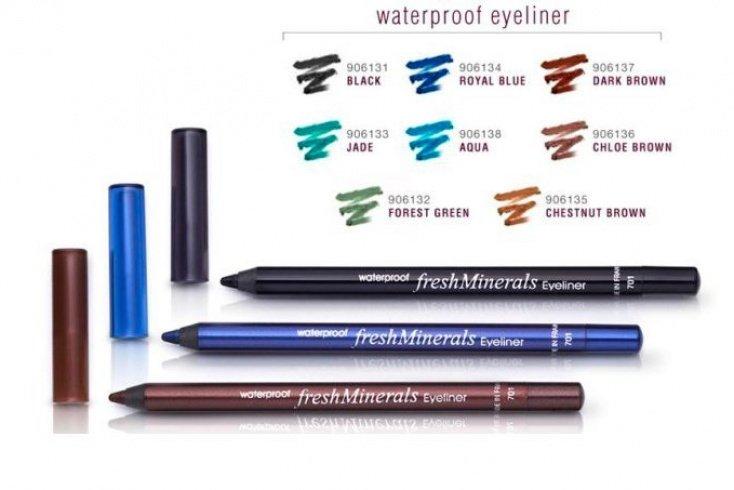 Водостойкий карандаш для глаз, FreshMinerals Waterproof Eyeliner Источник: inerboristeria.com