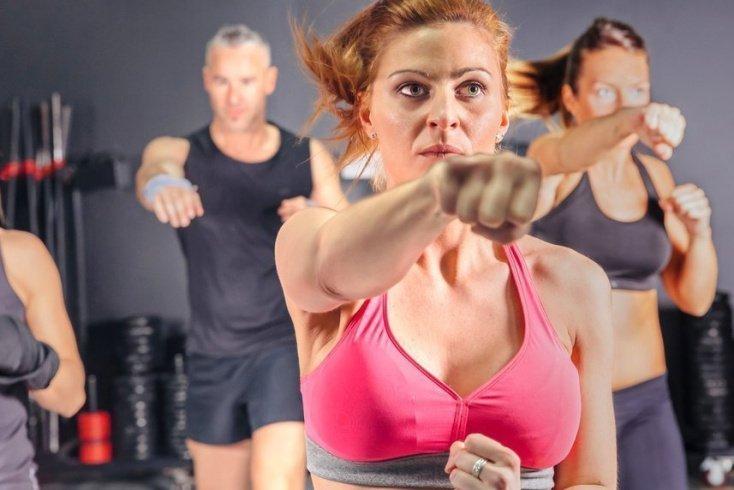Польза кикбоксинга как фитнес-тренировки