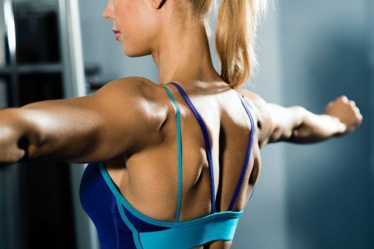 Эффективное упражнение при болях в спине