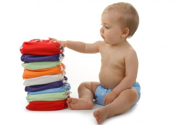 Как стирать многоразовый подгузник?