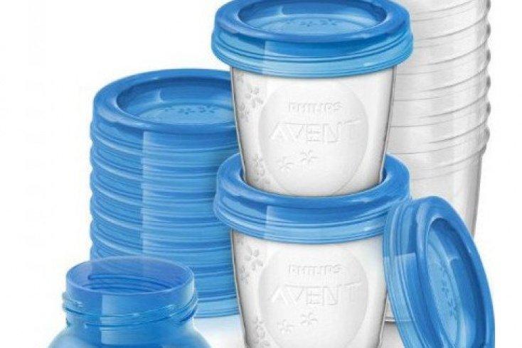 Набор контейнеров для хранения молока Philips AVENT