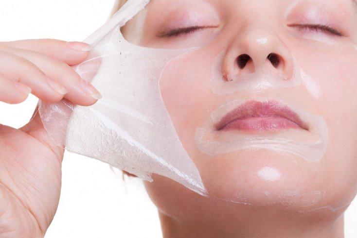 Домашняя маска из яичных белков для пилинга лица